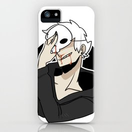 youre nothing if not vain, honey iPhone Case