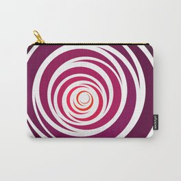 Spinnin Round Crimson Carry-All Pouch