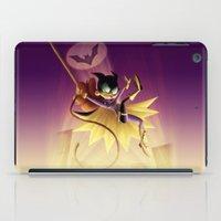 batgirl iPad Cases featuring Batgirl by Eileen Marie Art
