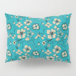 Floral two Pillow Sham