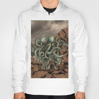 cthulhu Hoodies featuring Cthulhu by MrDenmac