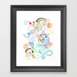 The Siren Framed Art Print