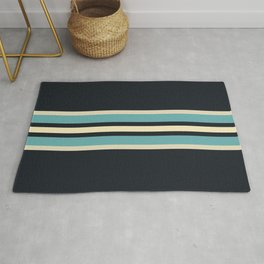 Fusahide - Classic 70s Retro Stripes Rug