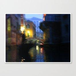 Blurred Venezia Canvas Print