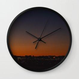 The Vegas Lights Wall Clock