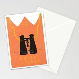 Minimalist Moonrise Kingdom Stationery Cards