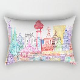 Berlin Towers Rectangular Pillow