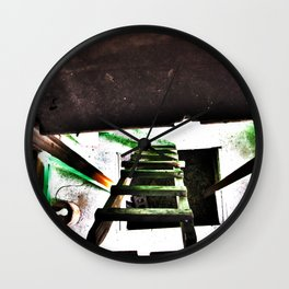ladder going up or down Wall Clock