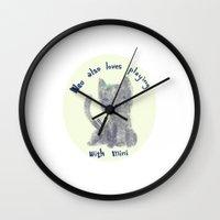 mini Wall Clocks featuring mini by miba