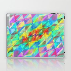 MULTICOLORED HAPPY CHAOS Laptop & iPad Skin