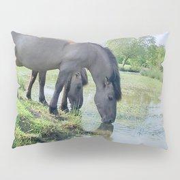 Drinking horses Pillow Sham