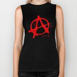 Chaos Grimm Anarchy  Biker Tank