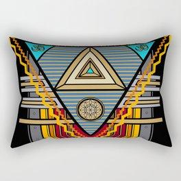 Tesla Portal Rectangular Pillow