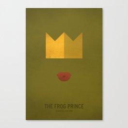 Frog Prince Canvas Print