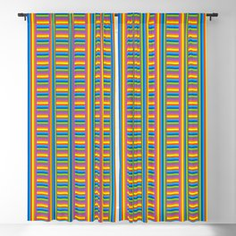 Colorama Pattern Blackout Curtain