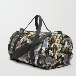 Chopped mushrooms - Forest harvest Duffle Bag