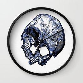 Human Skull Wall Clock