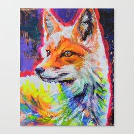 Fox Colors Canvas Print