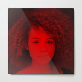 Nathalie Emmanuel - Celebrity (Photographic Art) Metal Print