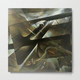 Rough Flight by T. Crali Metal Print