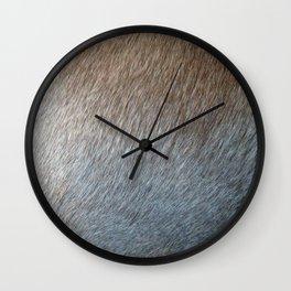 Weimeraner Natural Wall Clock