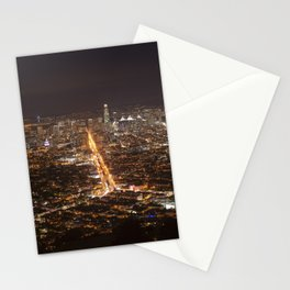 San Francisco, 11:00 pm Stationery Cards