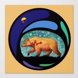 Zuni Bear Canvas Print