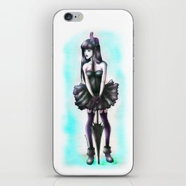 umbrella_girl iPhone Skin