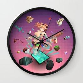 Geek play Wall Clock