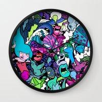 flash Wall Clocks featuring Flash! by Vanessa Teodoro