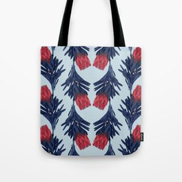 PROTEA IN COLUMBIA BLUE Tote Bag