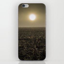 Early Foggy Spring in Wisconsin iPhone Skin