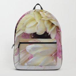 Gerbera Pink Center Diasies Backpack