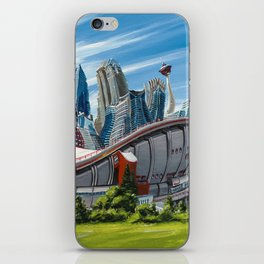 Downtown Calgary Skyline iPhone Skin