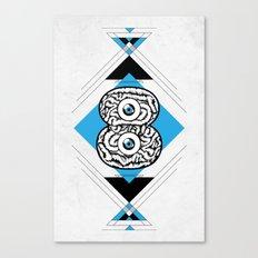 8 Brain Canvas Print