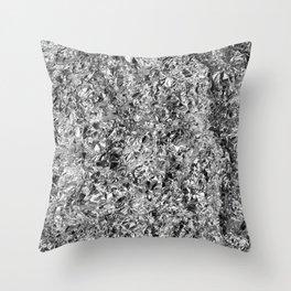 Silver Mine Throw Pillow