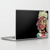 tank girl Laptop & iPad Skins featuring Tank Girl by N3RDS+INK