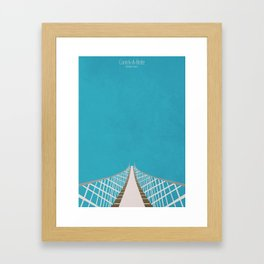 Carrick-A-Rede Rope Bridge Framed Art Print