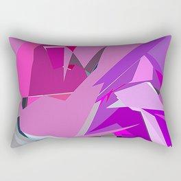 Purple Slice Rectangular Pillow