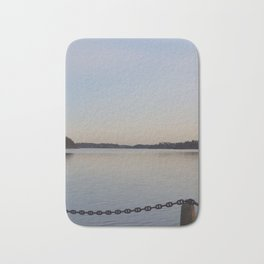 Gorgeous Chained Lake View Bath Mat