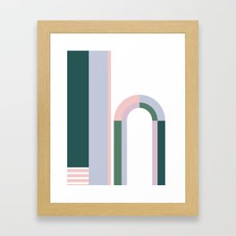 The Introduction Series #06 Framed Art Print