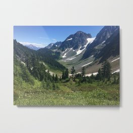 Heart of the Mountains Metal Print