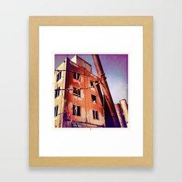 Off Limits Framed Art Print