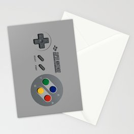 Classic Nintendo Controller Stationery Cards