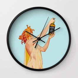 Whiskey Dreams Wall Clock