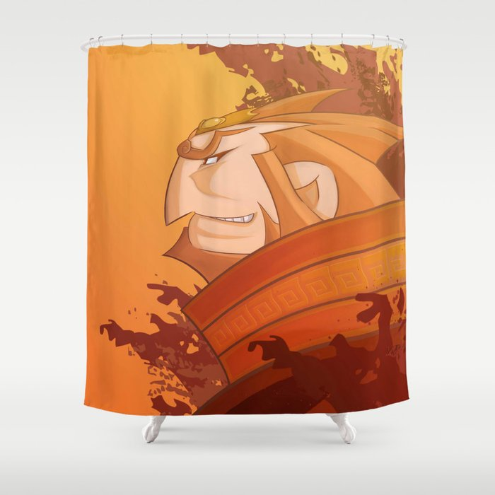Ganondorf Wind Waker Shower Curtain By Sergiruiz