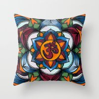rogue Throw Pillows featuring Rogue by Matthew Zigrossi Visual Arts