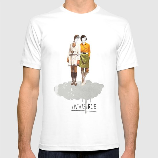 Invisible | Collage T-shirt