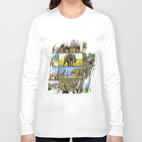 wildlife Long Sleeve T-shirts featuring Wildlife by Karl-Heinz Lüpke