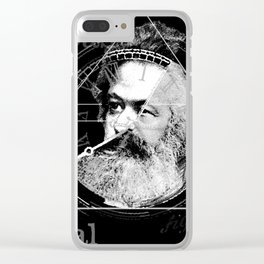 The Time of Marx Dark Clear iPhone Case